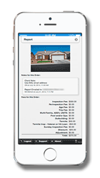 Signet Home Inspections offers our own custom smartphone app for Realtors .