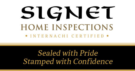 New business cards arrive at<br />Signet Home Inspections
