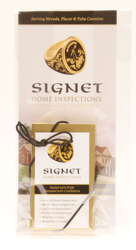 Signet Home Inspections Fall marketing promotion 1